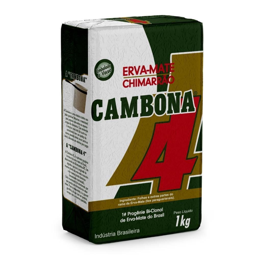 ERVA MATE CHIMARRAO CAMBONA 4 1kg