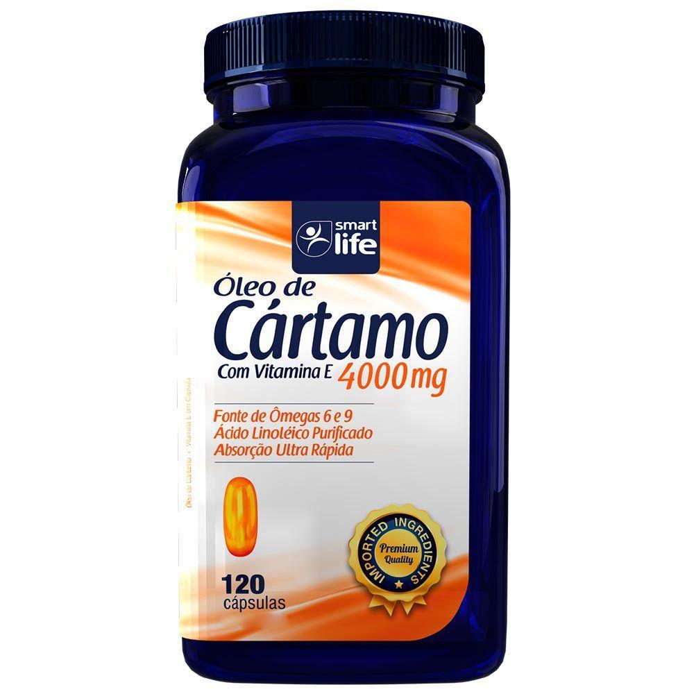 OLEO DE CARTAMO SMARTLIFE 4000mg 120cap